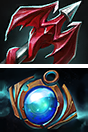 Icons for Dragon Lance and Aether Lens